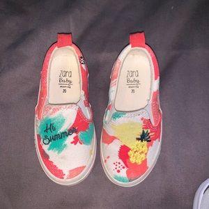 Baby slip on shoe